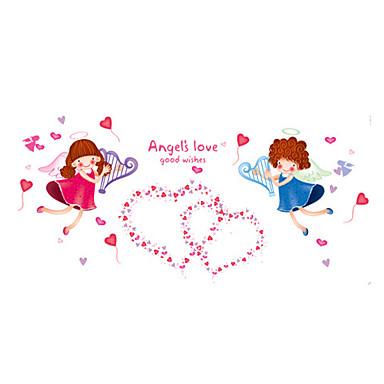 Cartoon Design Worte & Zitate Romantik Mode Feiertage Landschaft Formen Personen Fantasie Wand-Sticker Flugzeug-Wand StickerDekorative