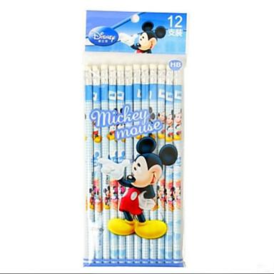 tre søte fargede blyanter (12pcs)