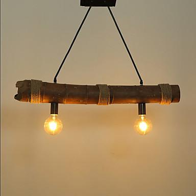 Pendelleuchten Deckenfluter - Ministil, Retro, 110-120V 220-240V Glühbirne nicht inklusive