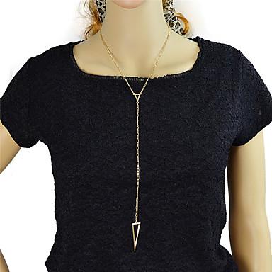 Modische Halsketten Ketten Schmuck Party / Alltag Aleación Goldfarben 1 Stück Geschenk