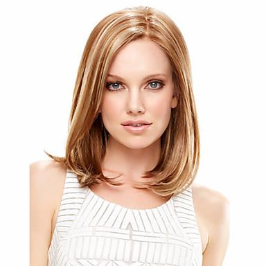 נשים קצר קוספליי פאת שיער סינטטי חומות מתולתלת דבש