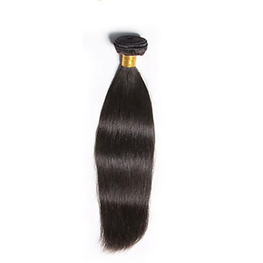 Menschenhaar spinnt Brasilianisches Haar Gerade 6 Monate 1 Stück Haar webt