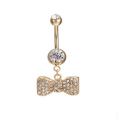 Žene Nakit za tijelo Navel & Bell Button Rings Zabava Ležerne prilike Tikovina Legura Jewelry Za Kauzalni