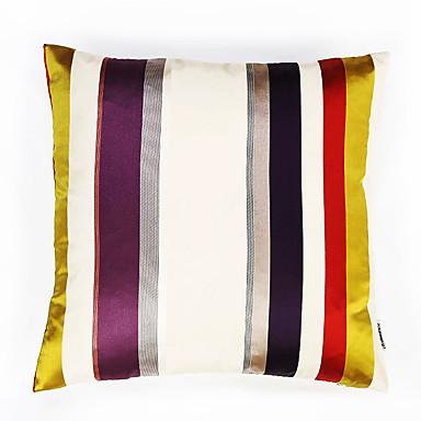 1 Stück Polyester Kissenbezug, Gestreift Traditionell-Klassisch