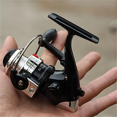 Molinetes Rotativos 5.1:1 3 Rolamentos Trocável Pesca de Mar / Rotação / Pesca de Água Doce / Pesca Geral-GX-100 #