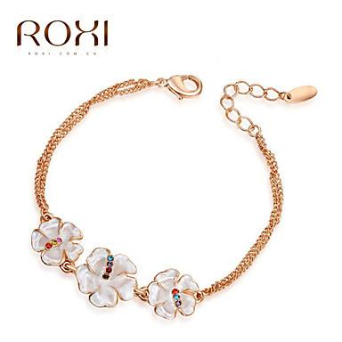 נשים שרשרת וצמידים צמידי צ'ארם עיצוב מיוחד אופנתי קריסטל סגסוגת תכשיטים תכשיטים עבור חתונה Party יומי