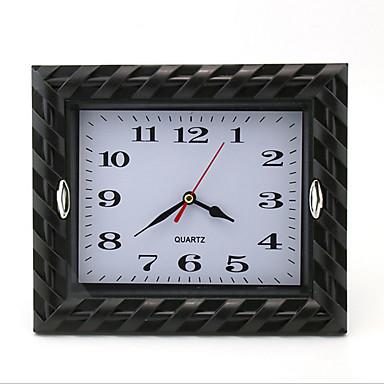 Quadratisch Modern/Zeitgenössisch Wanduhr,Urlaub Kunststoff 22*18*5 cm (8.66*7.09*1.97 inch)