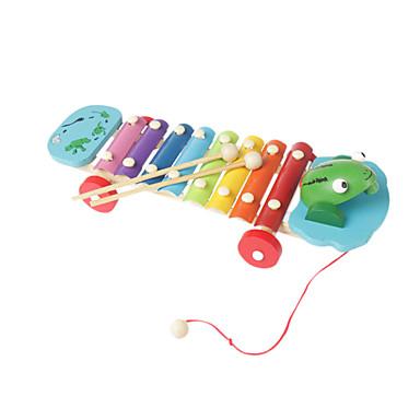 Holz gelb Hand Kind klopfen Klavier für alle Kinder Musikinstrumente Spielzeug