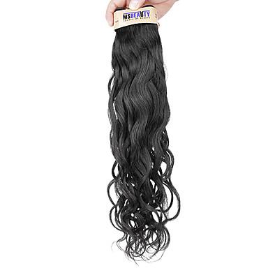Az emberi haj sző Maláj haj Természetes hullám 1 darab haj sző