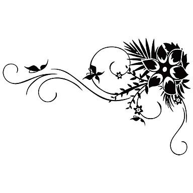 מדבקות קיר מדבקות קיר דקורטיביות - מדבקות קיר מטוס L ו-scape חיות טבע דומם רומנטיקה אופנה צורות פרחים חג סרט מצויר Fantasy בוטני ניתן
