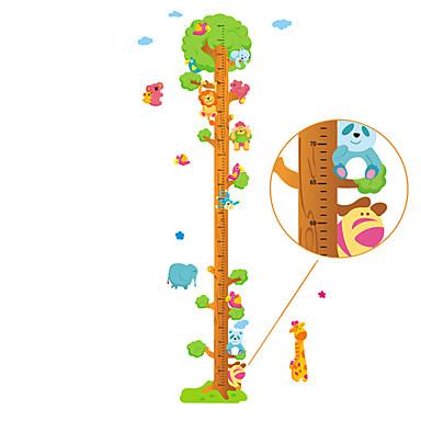 Højde klistermærker - Animal Wall Stickers Landskab / Dyr Stue / Soveværelse / Læseværelse / Kontor / Kan fjernes