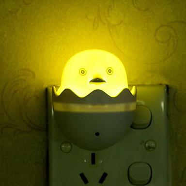 créatif petite lumière nuit lumière canard jaune