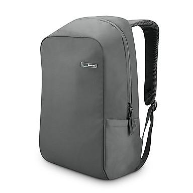 pofoko® 14 pouces étanche oxford tissu ordinateur portable sac à dos noir / gris