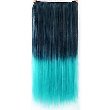 Haarverlängerungen Kunststoff Haarverlängerung