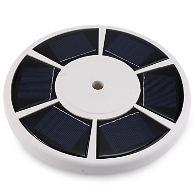 LED-Solarleuchten Leicht zu installieren Kühles Weiß Batterie