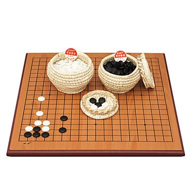 royal st porcelaine pièces d'échecs en bois à deux faces à double usage panneau de 2,5 cm + un ancien conseil nuage / date + 5 points