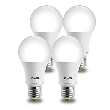 E26/E27 LED-globepærer A60(A19) 1 COB 850-900 lm Varm hvit Kjølig hvit Dekorativ AC 100-240 V 4 stk.