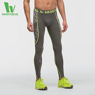 Homme Pantalons de Course - Noir, Gris Des sports Pantalon / Surpantalon / Leggings Course / Running Tenues de Sport Séchage rapide,