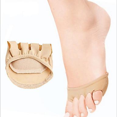 ราคาถูก อุปกรณ์เสริมสำหรับรองเท้า-การดูดซึม shock พื้นรอง รองเท้า ซิลิโคน เท้าหน้า ทุกฤดู ทุกเพศ ดำ / สีเบจ