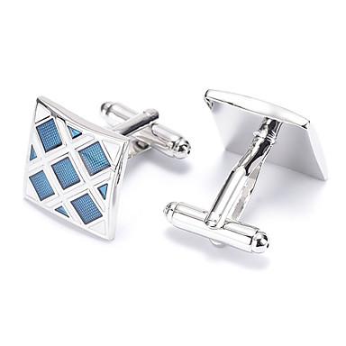 Sølv Manchetter Legering Kontor / Afslappet Herre Kostume smykker Til