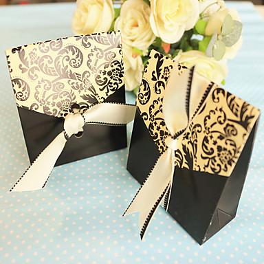 Pyramide Kreativ Kartonpapier Geschenke Halter mit Muster Geschenkboxen Geschenk Schachteln