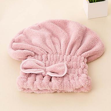 Frischer Stil Haar Tücher,Solide Gehobene Qualität 100% Polyester Handtuch