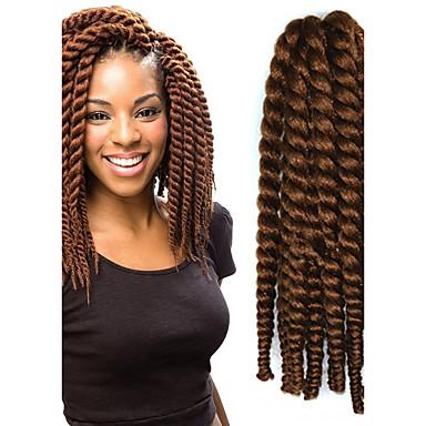 Cheveux Synthétiques Extension des cheveux Ondulé Classique Quotidien Haute qualité Femme Extentions synthétiques