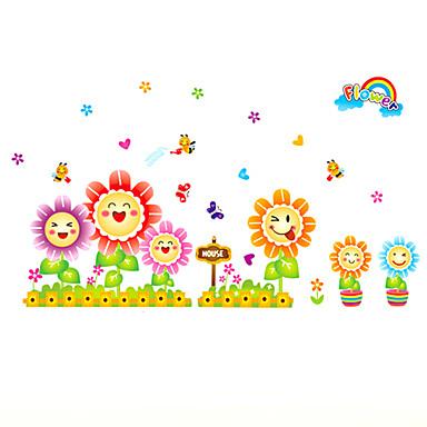 Tiere / Botanisch / Cartoon Design / Stillleben / Mode / Blumen / Freizeit Wand-Sticker Flugzeug-Wand Sticker,PVC 70*50*0.1