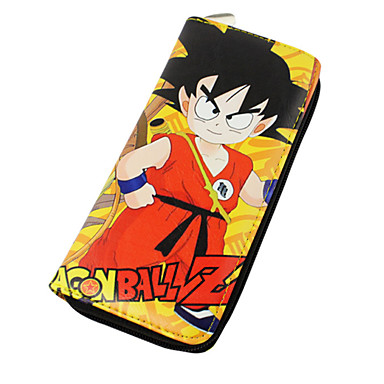 ארנקים קיבל השראה מ Dragon Ball Goku אנימה אביזרי קוספליי עוד אביזרים עור PU יוניסקס