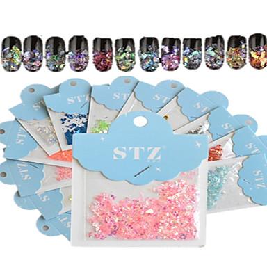 1 Nagel-Kunst-Aufkleber Abstrakt Zeichentrick Hochzeit lieblich Make-up kosmetische Nagelkunst Design