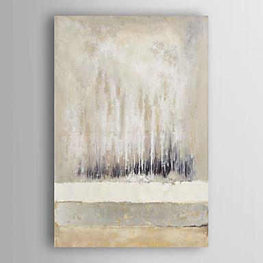 Mão abstrata pintura a óleo pintado acromática com moldura abstracta esticado arts® 7 parede