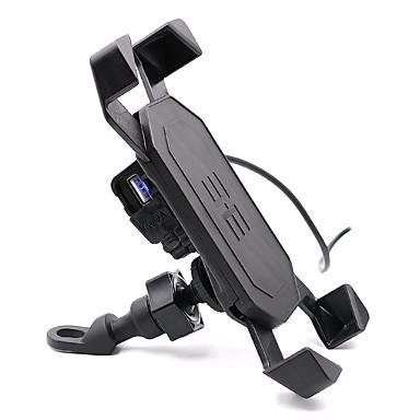 moto pilote support mobile de l'électronique Porte-chargeur mobile interface USB avec interrupteur