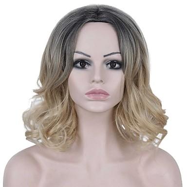 Syntetiske parykker Dame Krop Bølge Nuance Syntetisk hår Ombre-hår Nuance Paryk Lågløs AISI HAIR