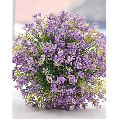 Hochzeitsblumen Sträuße Hochzeit Party / Abend Trockenblume Polyester Satin 23 cm ca.