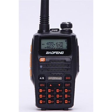 BAOFENG UV-5R UP Funkgerät Tragbar / digital Sprachansage / Dual - Band / Dual - Anzeige 1.5 km -3 km 1.5 km -3 km 128 1800mAh 5W Walkie