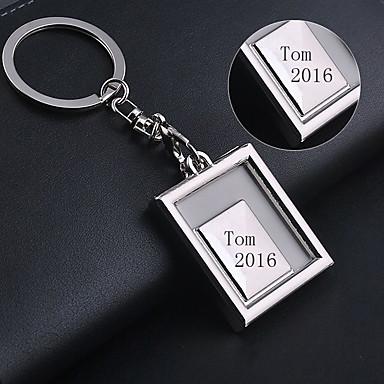 Zinklegierung Keychain Favors-1 Stück / Set Schlüsselanhänger Asiatisches  Thema individualisiert Silber / Golden