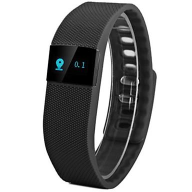T6WV04 Smartarmbånd Aktivitetsmonitor Vannavvisende Lang Standby Kalorier brent Pedometere Søvnsporing Stopur Anvendelig Bluetooth 4.0iOS