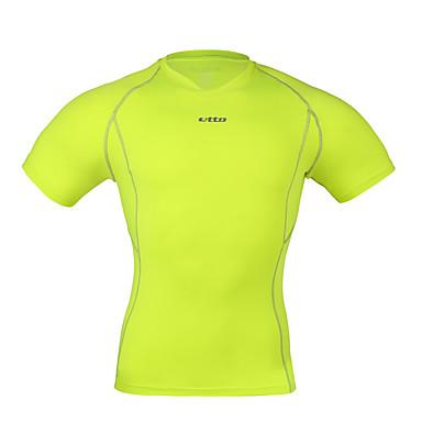 בגדי ריקוד גברים טישרט לריצה דחיסה בגדים צמודים תחתיות ל כושר גופני ריצה צמוד M L XL