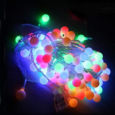 10m הוביל אורות מחרוזת עם 100led כדור ac220v חג תפאורה חג פסטיבל אורות תאורה חיצונית
