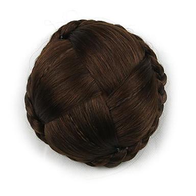 verworrene lockige europa braun Braut Chignons menschliches Haar capless Perücken g660232-l 2009