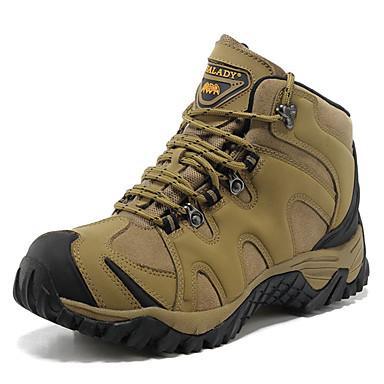 טיפוס גברים נעליים עור נאפה Leather חאקי