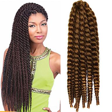12-24 Zoll Häkelarbeit Flechten Havana Mambo Afro Twist Haarverlängerung 27 #