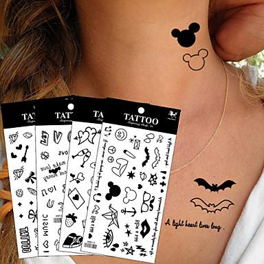 Tatuagens Adesivas Outros não tóxica Á Prova d'água Criança Feminino Girl Adulto Tatuagem Adesiva Tatuagens temporárias