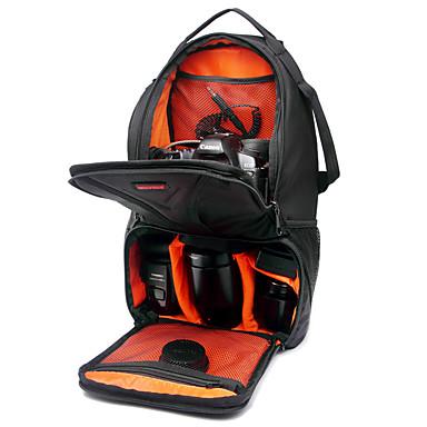 INDEPMAN Waterproof Camera/Lens Backpack DSLR One-Shoulder Multifuctional Camera Bag 44*19*25.5 Green/Red Inside
