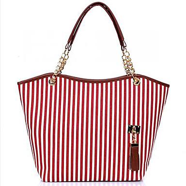 Damen Taschen PU Umhängetasche für Einkauf Normal Formal Ganzjährig Schwarz Rot Blau