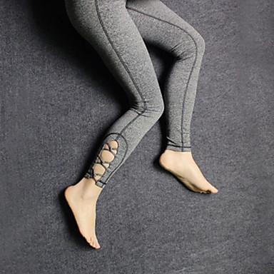 Mulheres Calças de Corrida Secagem Rápida Respirável Compressão Meia-calça Calças Ioga Exercício e Atividade Física Esportes Relaxantes