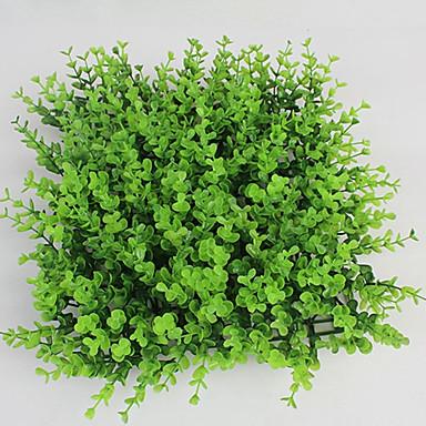 1 Ast Kunststoff Pflanzen Boden-Blumen Künstliche Blumen
