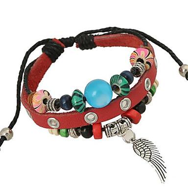 Bracelet Bracelets de rive / Bracelets en cuir Alliage / Cuir Mariage / Soirée / Quotidien / Décontracté / Sports Bijoux CadeauNoir /