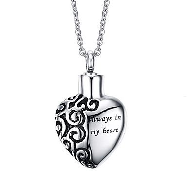 נשים שרשראות תליון תליונים פלדת טיטניום אהבה אופנתי תכשיטים עבור יומי קזו'אל