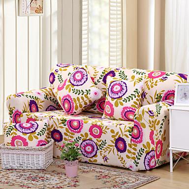 Wie im Bild Stretch Modern Sofa Abdeckung , Polyester Gewebe-Art slipcovers